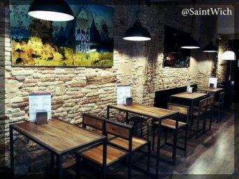 Saintwich interior