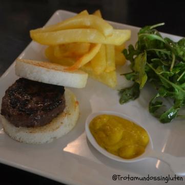 Mini hamburguesa