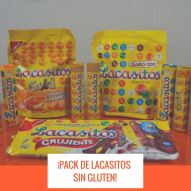 ¡PACK DE LACASITOS SIN GLUTEN!