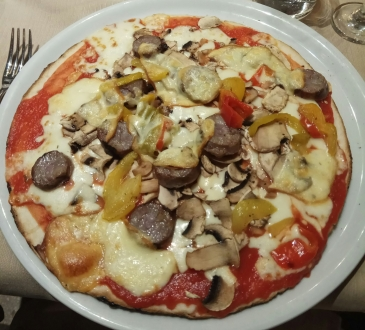 pizza mexicana sin gluten