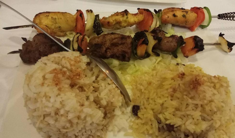 kabab variado