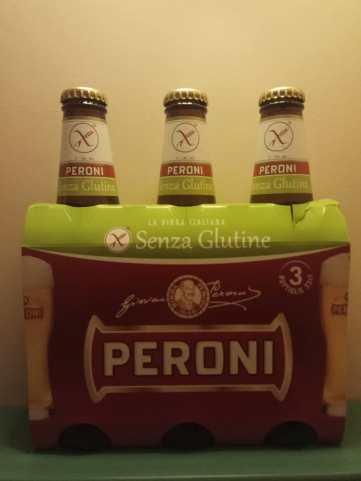 cerveza Peroni Sin gluten Roma