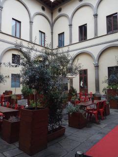 Huerto urbano restaurante quinoa florencia
