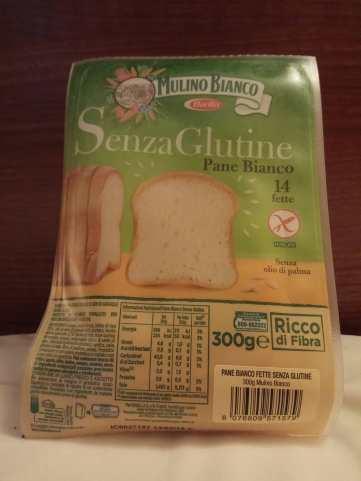 Pan sin gluten Roma