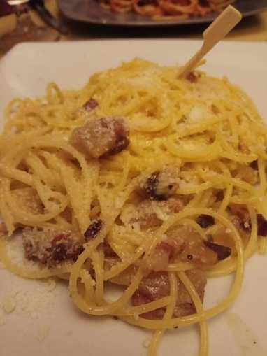 Pasta Carbonara sin gluten Phanta Rei