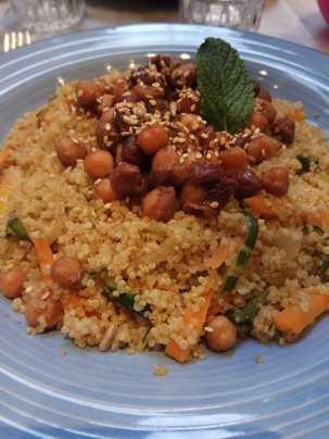 quinoa de verduras