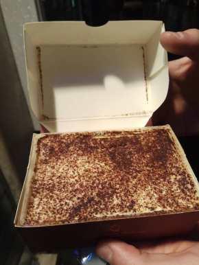 Tiramissu clásico sin gluten