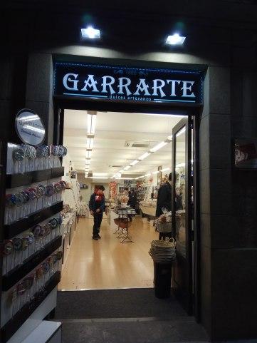 entrada Garrarte