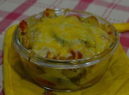 lasaña de patata sin gluten