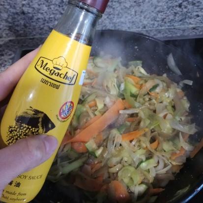 a+¦adir la salsa de soja