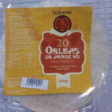obleas de arroz