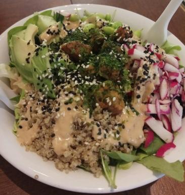bowl ensalada
