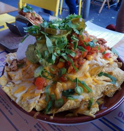 nachos completos sin gluten