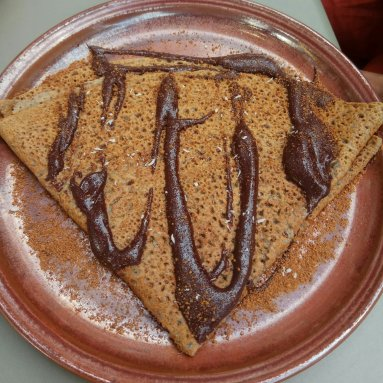 crepe de chocolate sin gluten
