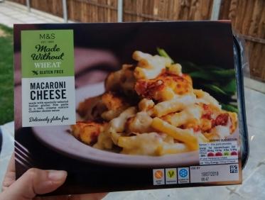 Macaroni cheese sin gluten