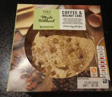 tarta de cafe sin gluten
