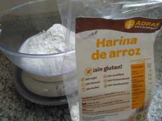 harina de arroz