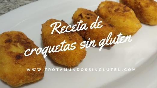 Receta decroquetas sin gluten