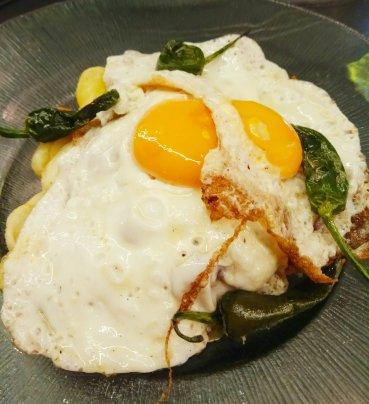 Huevos estrellados Maricastaña