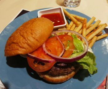 hamburguesas VIPS