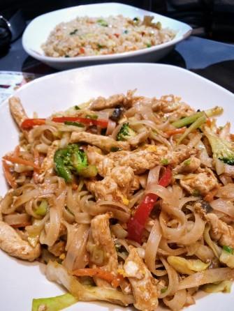 Pad Thai sin gluten